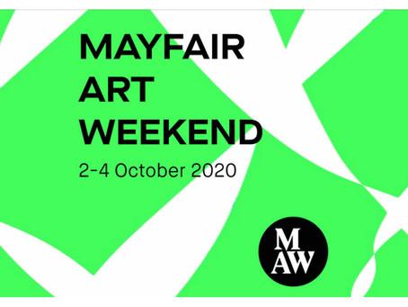 Mayfair Art Weekend 2-4 October, 2020