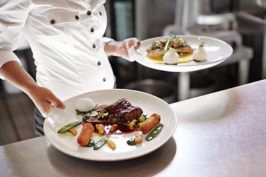 Vos repas dans l'appartement OSoleMio La Rochelle en cuisine, en pick-up ou en livraison à domicile