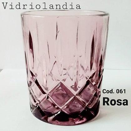 Vaso color Rosa. Cod.061