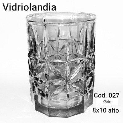 Vaso color Gris. Cod.27