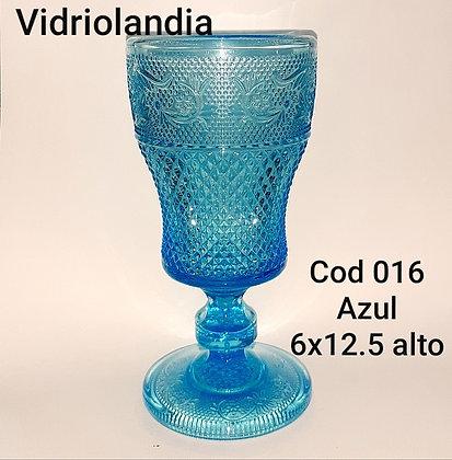 Copa color Azul. Cod.016