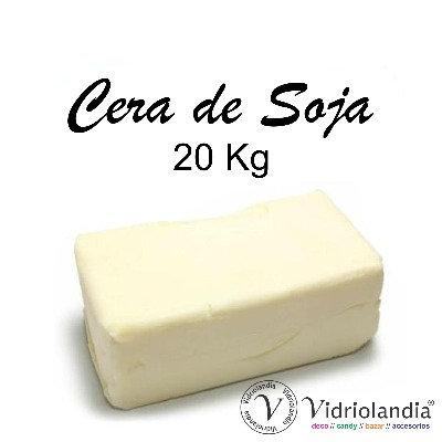 Cera de Soja x 20 kg