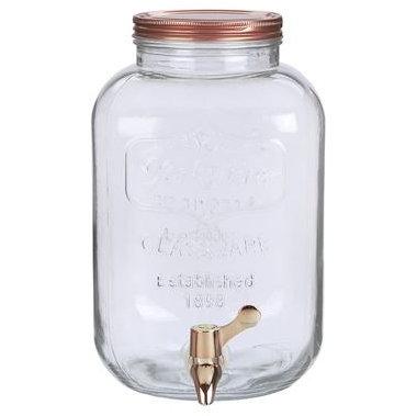 Dispenser  a rosca 8 litros (Dorado)