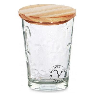 Gotas con  tapa madera
