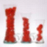 foreros con forma  vidrio Vidriolandia
