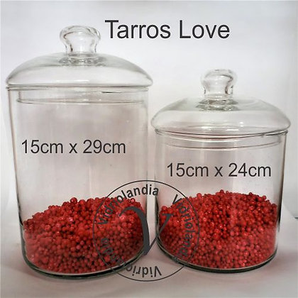Duo tarro Love 15cm