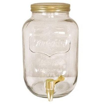 Dispenser con Canilla 4 litros (dorado)