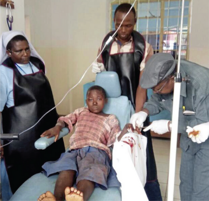 Tradgedy in Bushubi, Tanzania - 5 Killed, 43 Injured