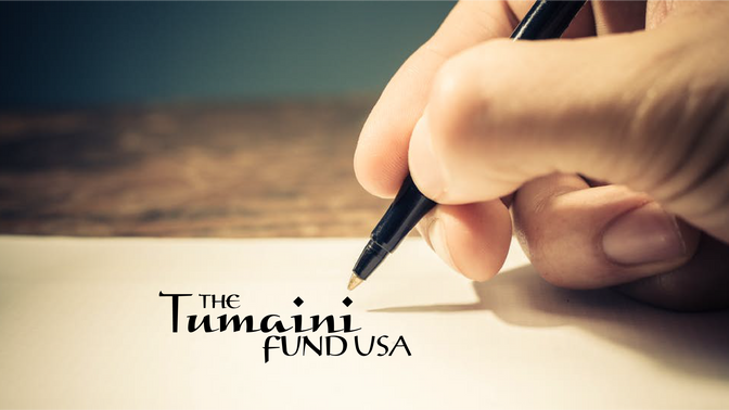 A Message from Tumaini Fund USA President