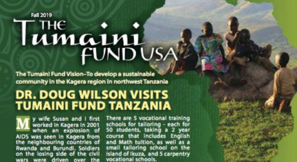 Tumaini Newsletter - Fall 2019