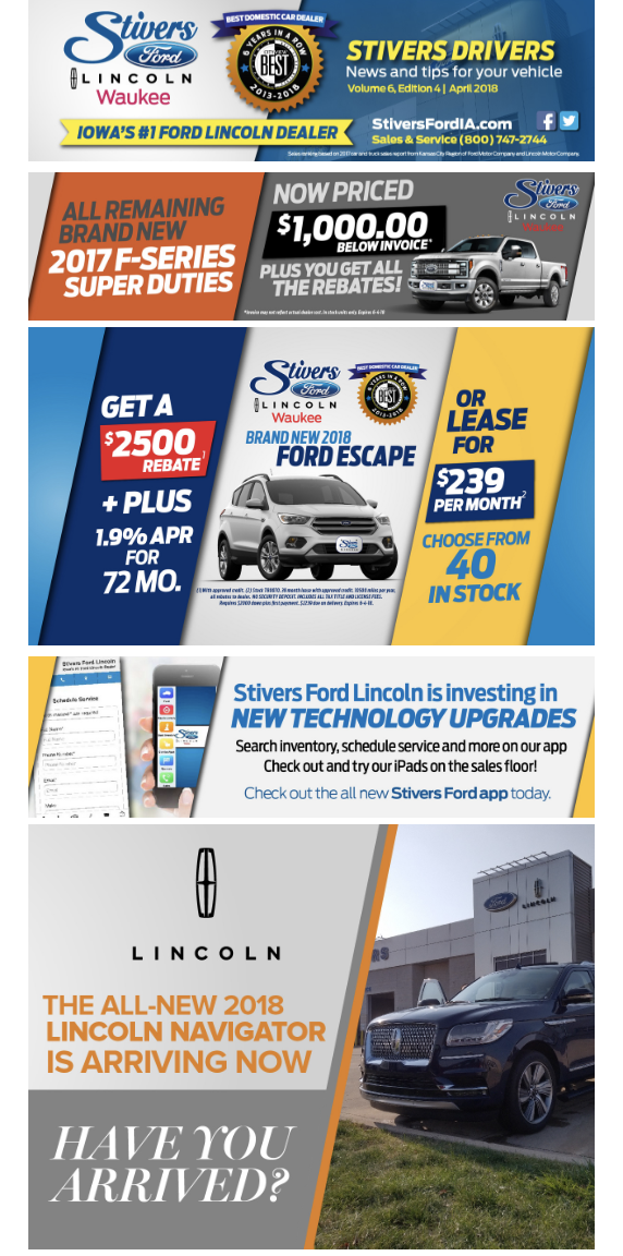 Stivers Ford Lincoln Email Marketing