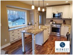 Kitchen remodel construction