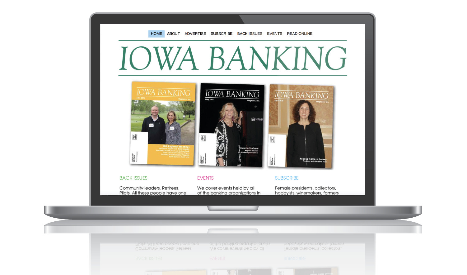 Iowa Banking Magazine Website