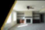 basement lower leve refinish custm cabinetry new basement carpet fireplace nick kik midwest contractor services clive iowa des moines remdeling remodel