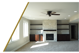 basement lower leve refinish custm cabinetry new basement carpet fireplace nick kik midwest contractor services clive iowa des moines remdeling remodel