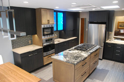 New kitchen remodel construction