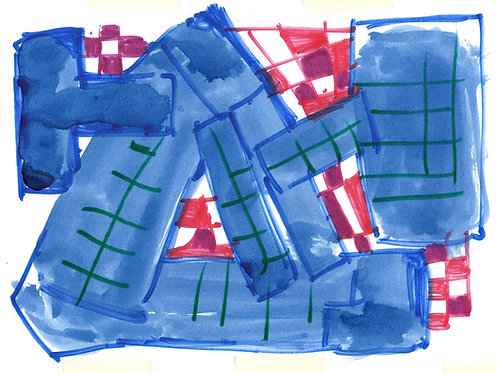 Untitled (Abstract, Looks Like MBH)