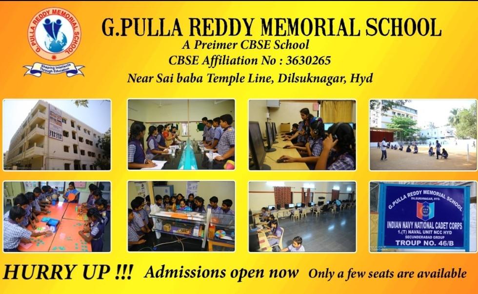 G. Pulla Reddy School Ad