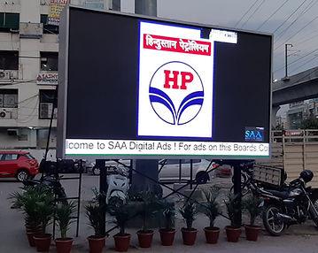 HP petrol Bunk layout