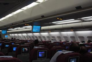 Has comfort declined on flights?