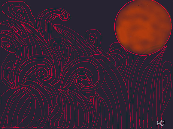 Greco_M_Red Moon and Waves_1.jpg