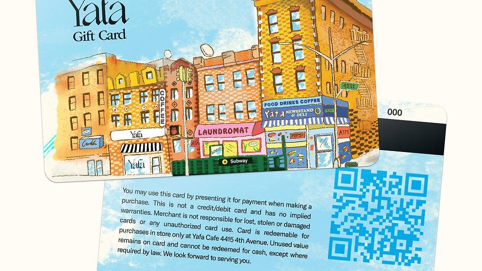 Yafa Gift Card