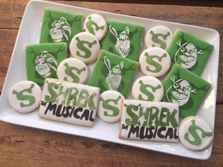 Shrek the musical... a little better tasting than swamp rats.