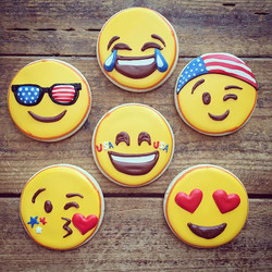 Instagram - Some patriotic themed emojis to brighten up your day 😎😂😄😘😉😍