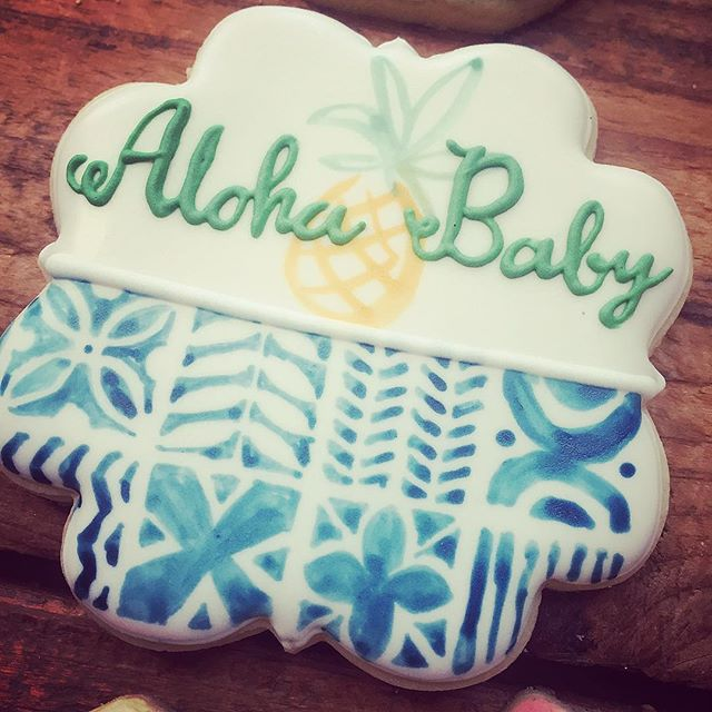 Tiki baby shower..