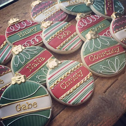 Head start on the holidays, check out the fun place holder cookies from yesterday _)
