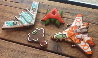 AirMech Christmas Cookies