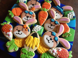 Summer cookies for a Family Reunion