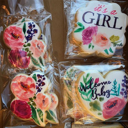 I hate when I forget to take pics of cookies, especially when they were as fun as these..