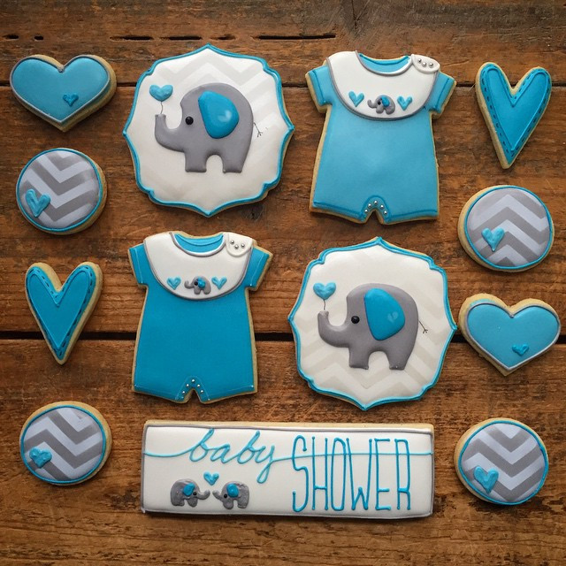 Instagram - Elephants and chevrons, who knew they'd be so cute together :) Cooki