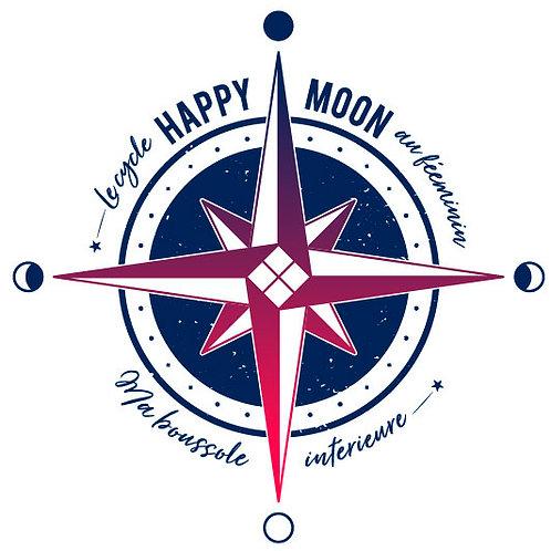 Happy-Moon - coffret - accompagnement sur le cycle féminin