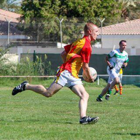Kyle Balensiefer- Kuwait Harp GAA Club Youth Development Offcer