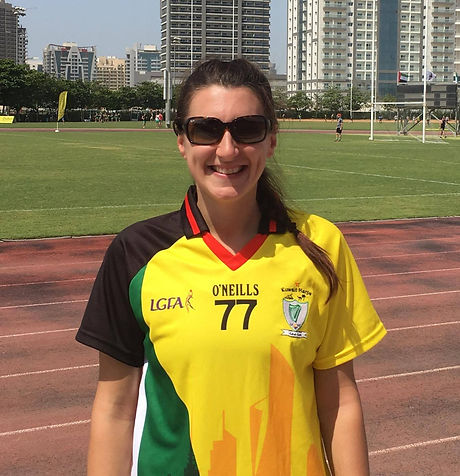 Emily Fair- Kuwait Harp GAA Club Middle East Represenative