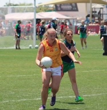 Nancy Campbel- Kuwait Harp GAA Club Women's Player Rep