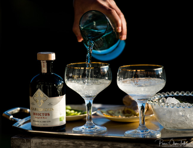 Gin_Maredsous_Cocktail_Invictus_Water_on