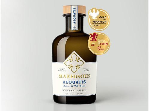 MAREDSOUS AÉQUATIS BIO GIN - 40% alc. - 500ml