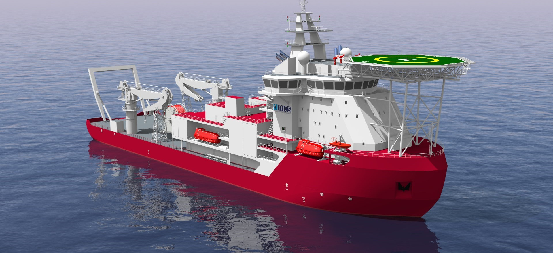 Ice-Class Multi-Purpose Diving & Construction Vessel