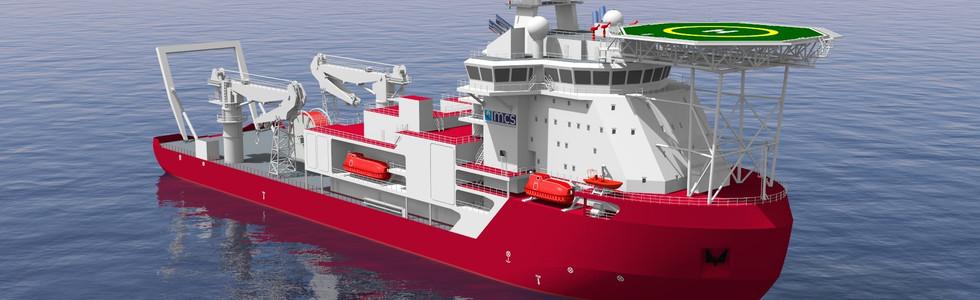Ice-Class Multi-Purpose Diving & Construction Vessel