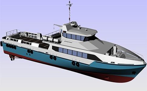 38m High Speed Crew Boat
