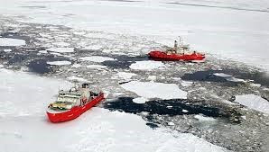 Icebreakers (15 MW and 18 MW power) for Arctic operations
