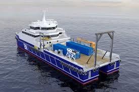 Catamaran Air Dive Support Vessel