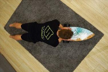 Stability board ocean design push up fek