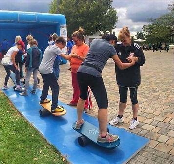 mozgásfesztivál Stability Workout Balance board egyensúlyozó deszka
