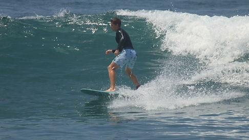 Gaál Attila Bali szörf hullámszörf
