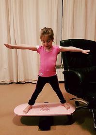 Kids on Stability board