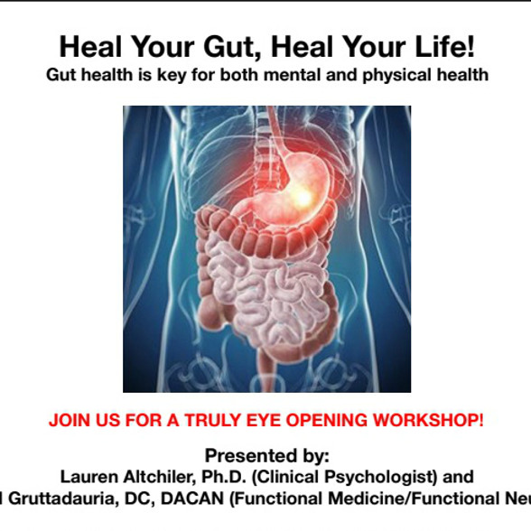 Heal Your Gut Heal Your Life Workshop